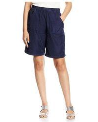 Minimum CORY femmes Short en bleu