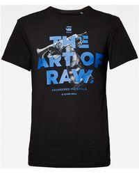 G-Star RAW D15627 336 GRAPHIC17 - Negro