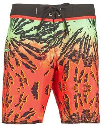 """Quiksilver - Glitched 18"""" Boardshorts - Lyst"""