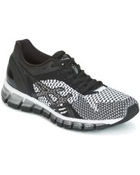 Asics - Gel-quantum 360 Knit Women's Running Trainers In Black - Lyst