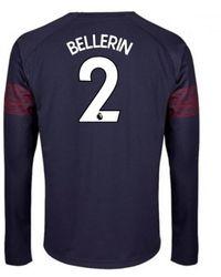 1c28abd0f4e Puma 2016-17 Arsenal Long Sleeve 3rd Shirt (bellerin 24) Men s In ...
