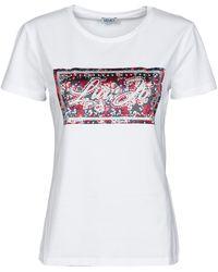 Liu Jo WA1562-J5003-T9335 T-shirt - Blanc