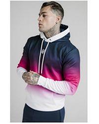SIKSILK SWEAT-SHIRT À CAPUCHE TRI-FADE 16607 Sweat-shirt - Multicolore