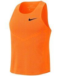 Nike Camiseta tirantes Aeroswift Singlet M - Naranja