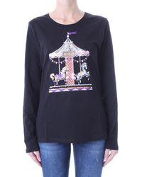 Liu Jo T-shirt Korte Mouw Wf1573 J0166 - Zwart