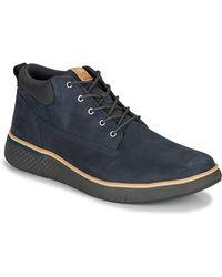 Timberland Hoge Sneakers Cross Mark Pt Chukka - Blauw