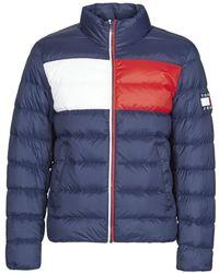 Tommy Hilfiger Donsjas Tjm Essential Down Jacket - Blauw