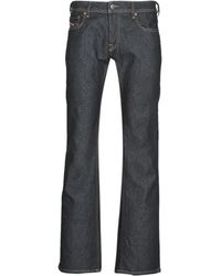 DIESEL Pantalón de campana ZATINY - Azul