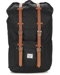 Herschel Supply Co. Little America Rugzak Met Logopatch - Zwart