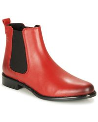 Betty London Boots - Rouge