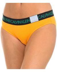 Calvin Klein Culote y bragas Braguita Calvin Klein - Naranja