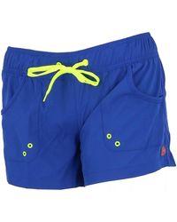 Culture Sud Short Towny marine short fun - Bleu