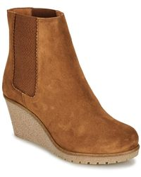 Bensimon Boots Cortland Women's Mid Boots In Brown