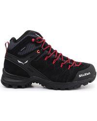 Salewa WS Alp Mate Mid WP Chaussures - Noir