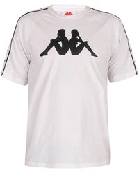 Kappa T-shirt authentique T-shirt - Blanc