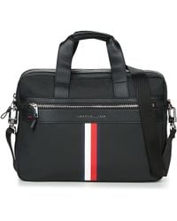 Tommy Hilfiger - Elevated Computer Bag Men's Briefcase In Black - Lyst