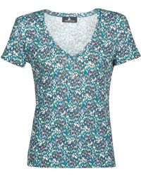 One Step T-shirt Korte Mouw Millet - Blauw