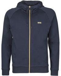 BOSS by Hugo Boss Sweater SAGGY 1 - Blauw