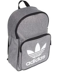 adidas - Originals Trefoil Casual Men s Backpack In Grey - Lyst 1b91e53687aa2