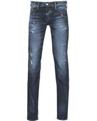 Le Temps Des Cerises Skinny Jeans 711 Mat - Blauw