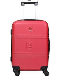 Słoń Torbalski 040401k09 Hard Suitcase - Red