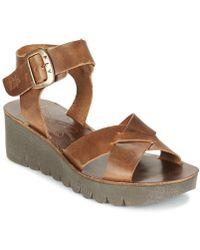 Fly London - Yeri Women's Sandals In Brown - Lyst