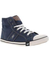 Mustang 1099-502 Chaussures - Bleu