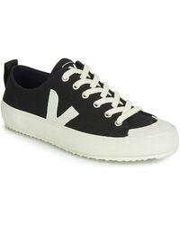 Veja Lage Sneakers Nova - Zwart