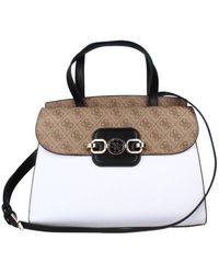 Guess HENSELY SATCHEL - Blanco