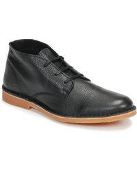 SELECTED Laarzen Royce Desert Leather - Zwart