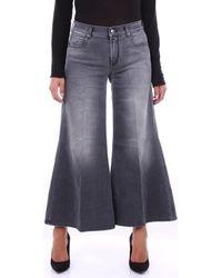 Jacob Cohen Jeans FLORACROP1292 - Gris