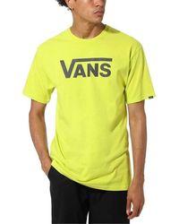 Vans - T-shirt Korte Mouw Mn Classic Tshirt - Lyst