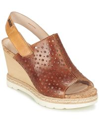 Pikolinos - Bali W3l Women's Sandals In Brown - Lyst