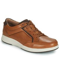 Clarks Lage Sneakers Un Trail Form - Bruin