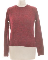 H&M Pull Femme 34 - T0 - Xs Pull - Rouge