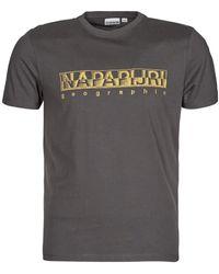 Napapijri T-shirt - Gris