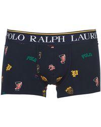 Polo Ralph Lauren Boxers Print Trunk-single-trunk - Blauw