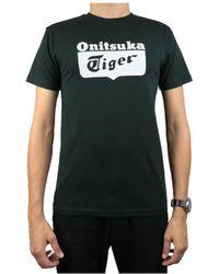 Onitsuka Tiger Logo Tee 2183A053-001 - Nero