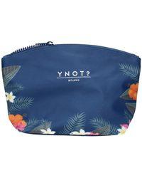 Y Not? Beautycases ? Cap-004s0 - Blauw