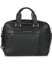 Tommy Hilfiger Aktetas Th Business Computer Bag - Zwart