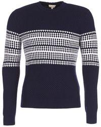 Aigle - Dargeriaz Men's Sweater In Blue - Lyst