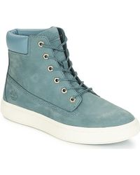 Londyn 6 Inch Mid Boots Blue