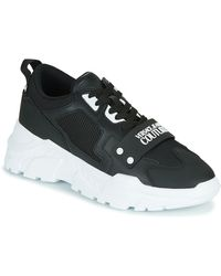 Versace Jeans Couture Lage Sneakers Yzasc6 - Zwart