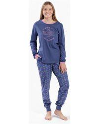 Munich Pyjama Pyjamas / Chemises de nuit - Bleu