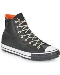 Converse Hoge Sneakers Chuck Taylor All Star Winter Cold Fusion Hi - Zwart
