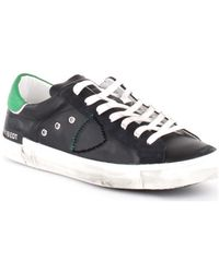 Philippe Model Lage Sneakers A10iprluvx15 - Zwart