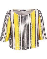 Antik Batik Blusa ZABOU - Amarillo