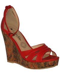 Big Star - M274377 Women's Sandals In Red - Lyst