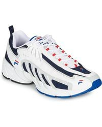 Fila Lage Sneakers Adrenaline Low - Wit