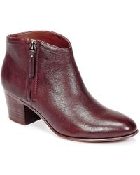 Clarks - Maypearl Alice Women's Low Ankle Boots In Red - Lyst